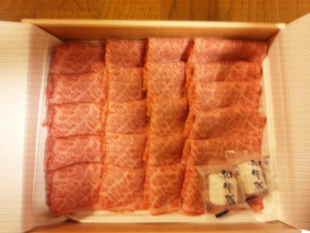 お肉が届きました(^O^)